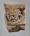 Campanarelief med løvehoved over akantusornament. Romersk