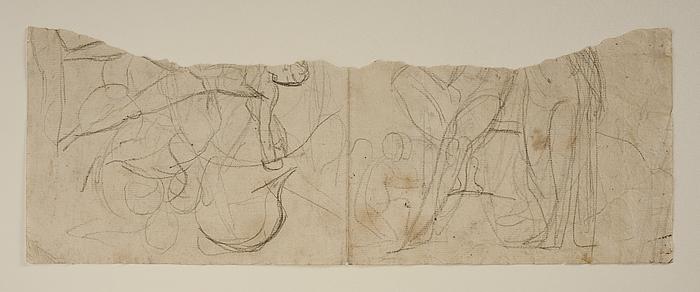 Chiron lærer Achilleus at skyde med bue. Herkules og Omfale