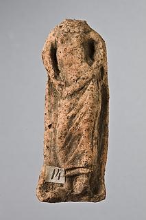 Statuette af en kvinde. Italisk