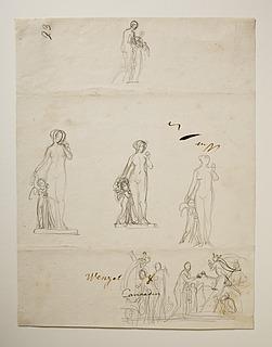 Paris og de tre gudinder. Venus og Amor