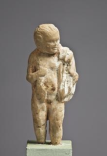 Statuette af en ung dreng. Hellenistisk-romersk