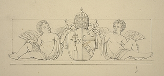 Pius 7.s våben