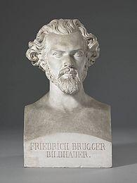 Portræt af Friedrich Brugger
