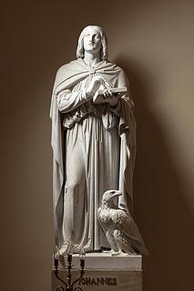 Johannes, marmor, Vor Frue Kirke