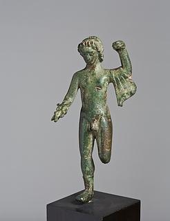 Statuette af Jupiter. Etruskisk