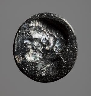 Portræt af en græsk mand. Hellenistisk-romersk paste