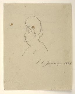 Karikatur af prinsesse Charlotte Frederikke af Mecklenburg Schwerin