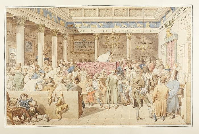 Synagoge i Rom
