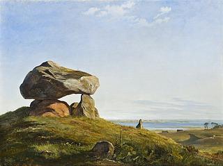 En gravhøj fra oldtiden ved Raklev på Refsnæs
