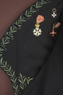 Thorvaldsens frakke til det franske kunstakademis uniform