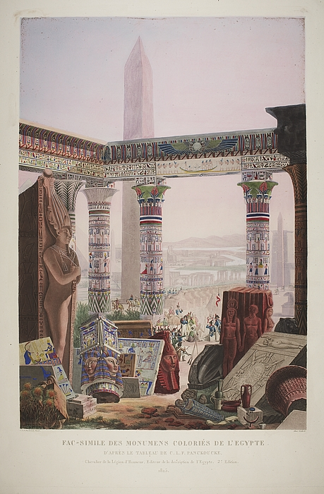 Fac-simile des Monumens Coloriés de l'Egypte