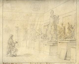 Peter Henrik Gemzøe: Antiksalen 1835, ukendt opholdssted