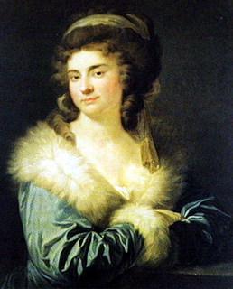 Giovanni Battista Lampi: Portræt af grevinde Julie Potočka. 81,5x64 cm. (Museum Narodowe, Warszawa)