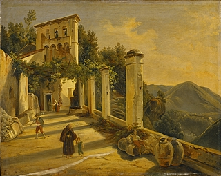 Et italiensk bjergkloster