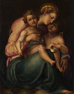 Maria med Jesus og Johannes