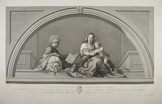 Den Hellige Familie ( La Madonna del Sacco )
