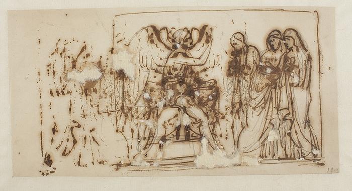 Kvinderne (De tre Marier) ved graven