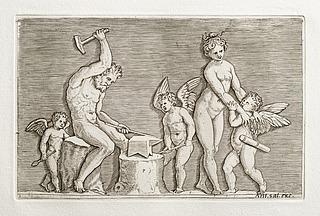 Vulkan, Venus og tre amoriner