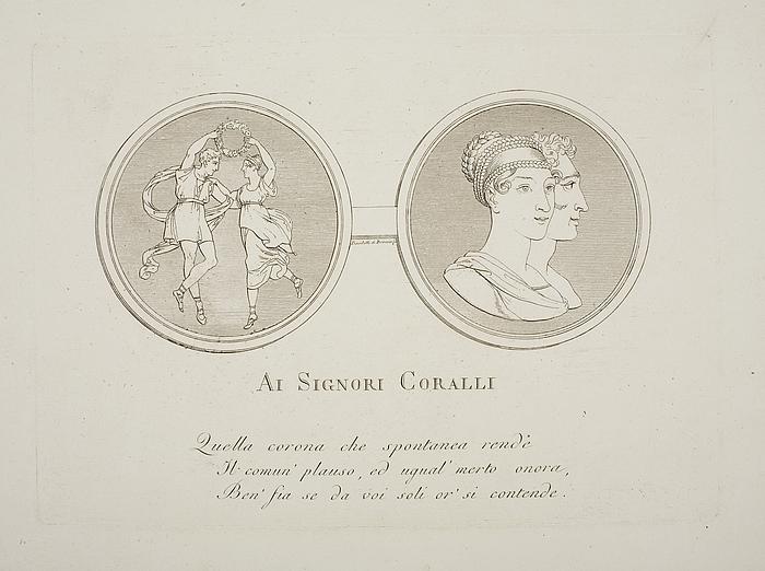 Al Signori Coralli ( Til ære for Coralli )