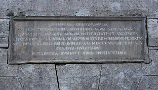 Rauch & Thorvaldsen: Gravmæle for William Sidney Bowles, 1808, Cimitero Acattolico, sten 16