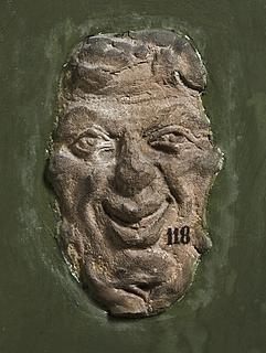 Campanarelief med Panmaske. Romersk