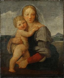 Rafael: Mackintosh Madonnaen, omkring 1510-1512 (Copyright tilhører National Gallery, London)