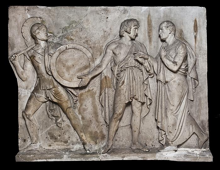 Thorvaldsen, Sommariva og en græsk kriger