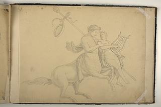 Chiron og Achilleus (?)