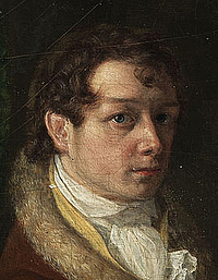 Franz Ludwig Catel: Selvportræt, c. 1810