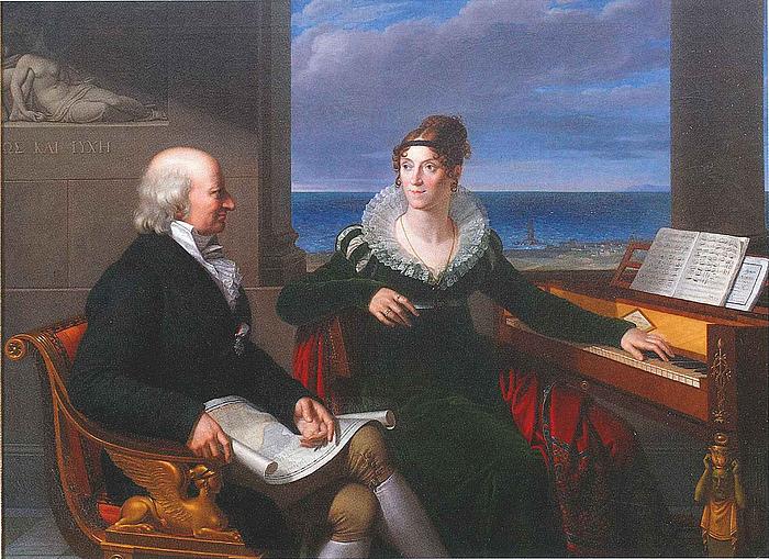 Pietro Benvenuti: H. & J. Schubart, 1813-14