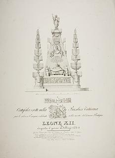 Katafalk for Leo 12.