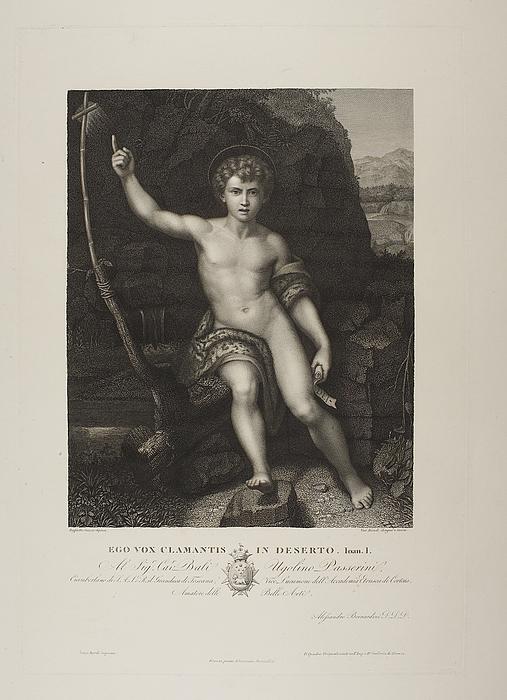 Ego vox clamentis in deserto ( Johannes døberen )