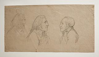 Wilhelm von Humboldt, Georg Zoëga og portræt af en ubekendt