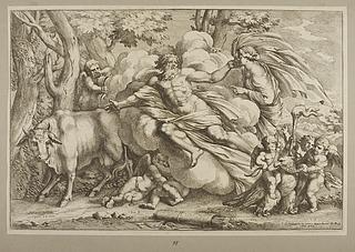 Jupiter forvandler Io til en ko