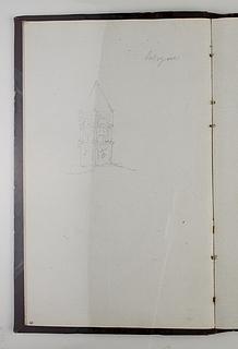 Middelalderligt kirketårn muligvis fra Bologna