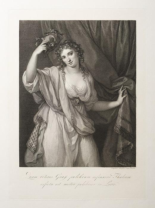 Lady Emma Hamilton som Thalia