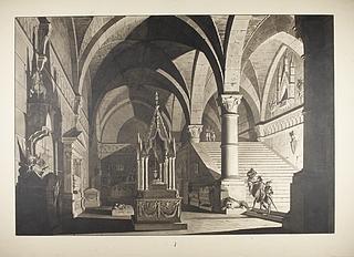 Italiensk gravkapel fra middelalderen