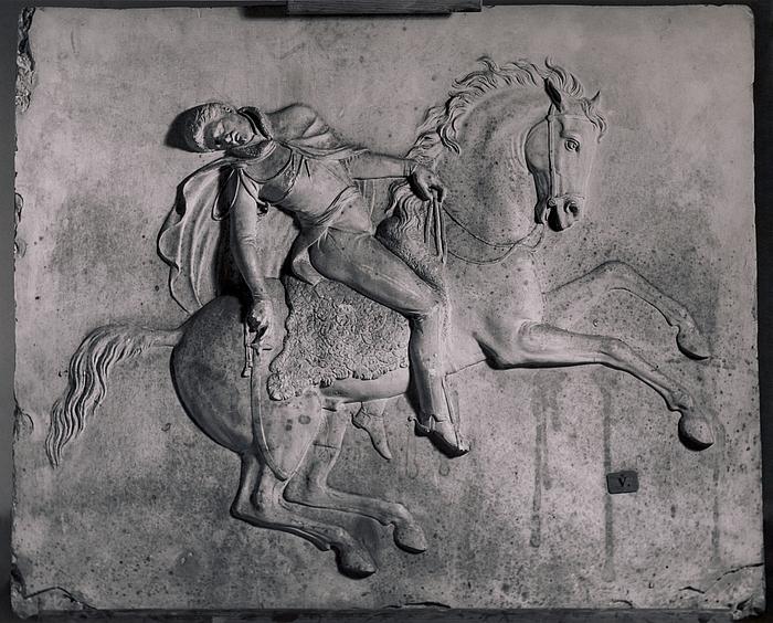 Jozef Poniatowski døende