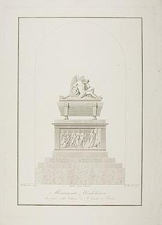 Monumentet over Johann Joachim Winckelmann