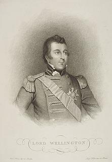 Lord Wellington ( Arthur Wellesley 1. hertug af Wellington )