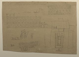 Thorvaldsens Museum, forarbejde til udkast No.2