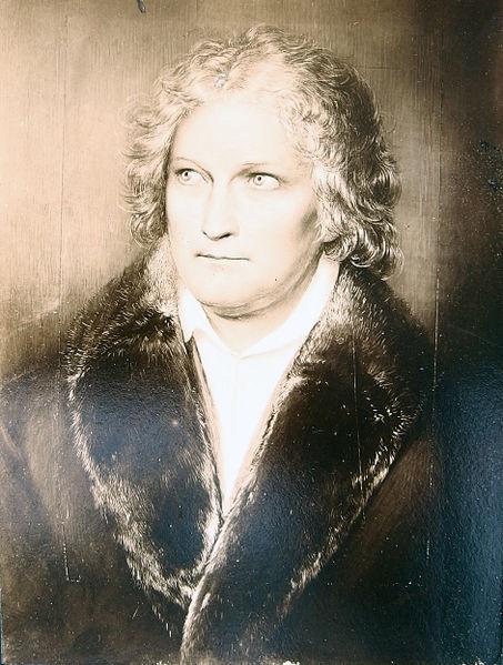 August Grahl, Portræt af Bertel Thorvaldsen, Rom 1830