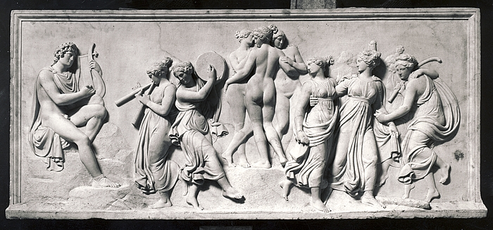 Musernes dans på Helikon