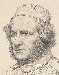 Christen Købke: H.W. Bissen, 1841