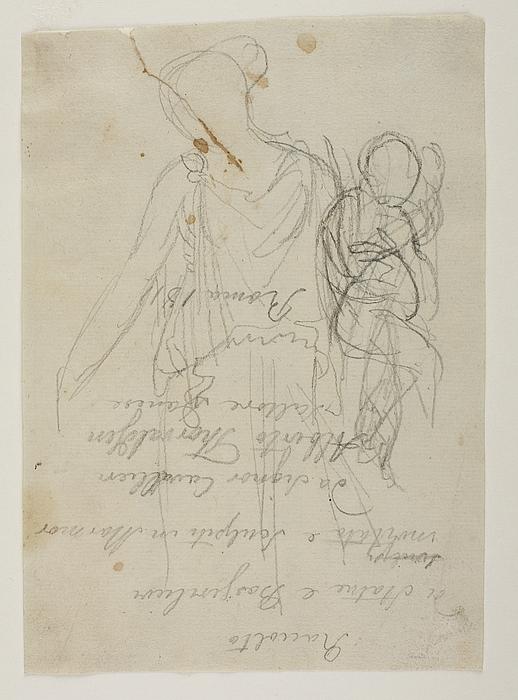 """Kvindefigur, symbol på """"Freden"""""""