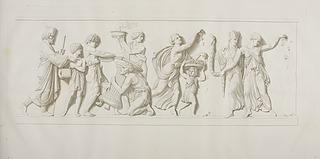 Bagophanes og hans alter. Dansende persiske kvinder