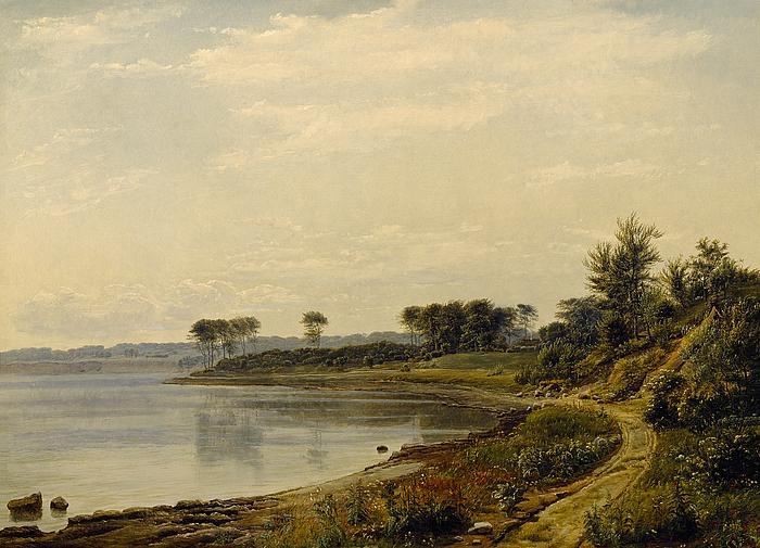 Et parti af kysten ved Aarhus