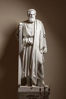 Andreas, marmor, Vor Frue Kirke