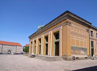 Museets hovedfacade efter restaureringen i 2006. (Foto: BK ApS)