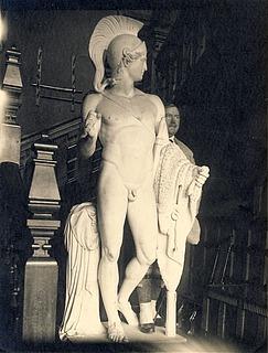 Jason-statuen, Heron's Ghyll i Sussex, 1919 - Copyright tilhører Thorvaldsens Museum